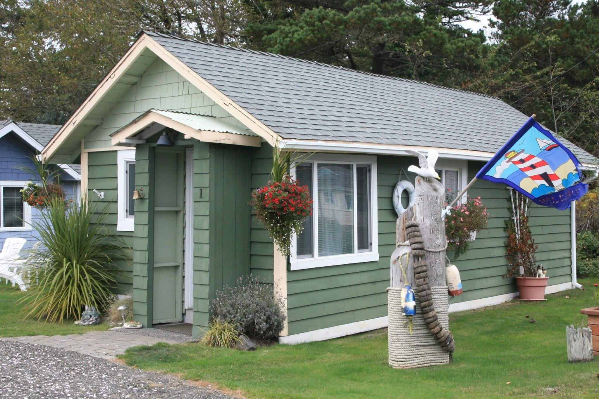 Cottage 1 exterior 2