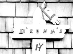 Sign on Cottage 1940s